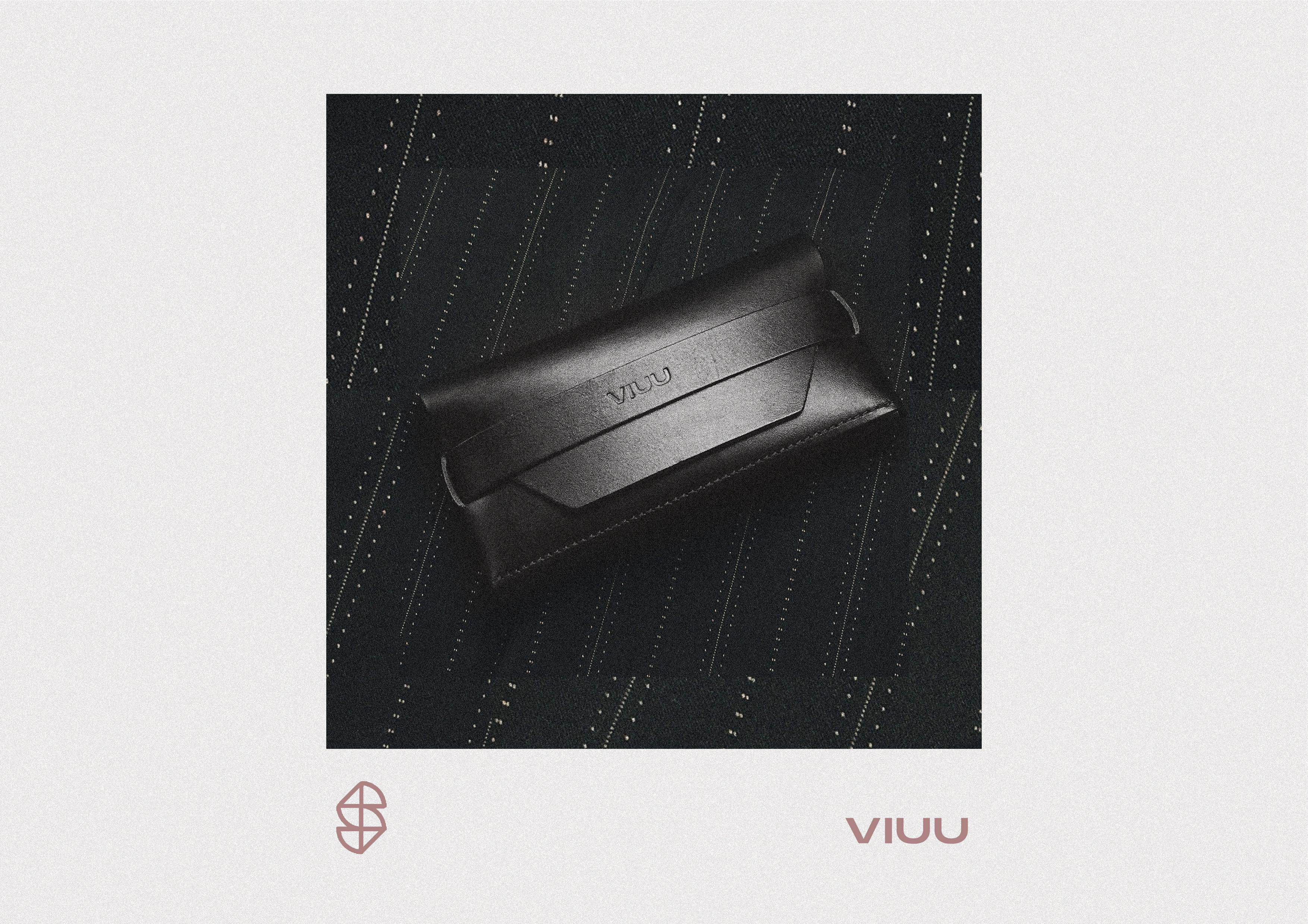 VIUU leather eyewear cases