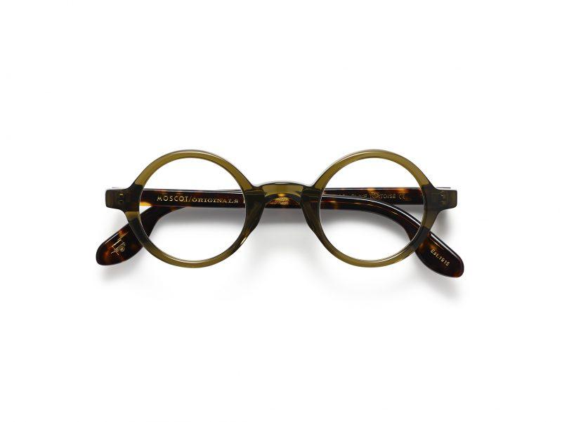 ümmargused klassikalised MOSCOT prillid
